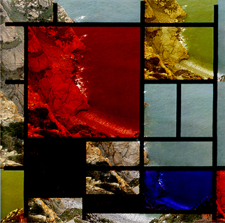 Collage by Mos Riera titled: Landscape 44960, created in 2007