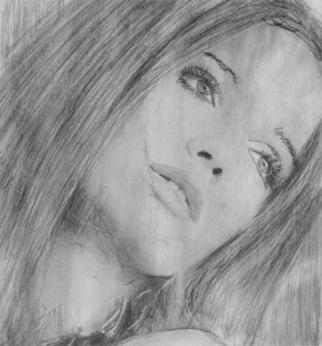 Mos Riera Artwork Madame Sunrise, 2007 Other Drawing, Portrait