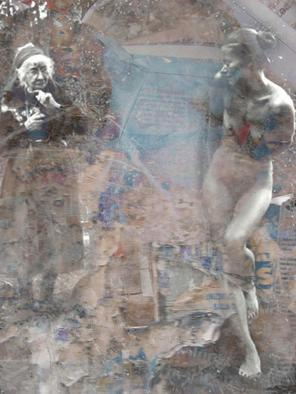Collage by Mos Riera titled: Three ages, 2005