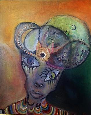 Artist: Bianca Pirlog - Title: stranger - Medium: Oil Painting - Year: 2013