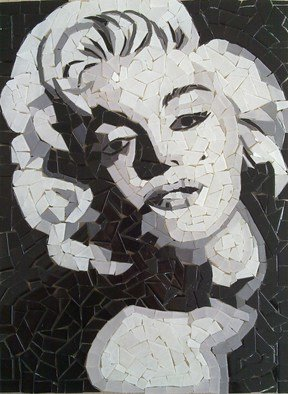 Mosaic by Diana  Donici titled: Marylin, created in 2011