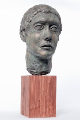 Marty Scheinberg: 'Horatio', 2010 Other Sculpture, Life.  Roman Style Bust ...