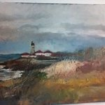 Fall At Beavertail Light, Michael Garr