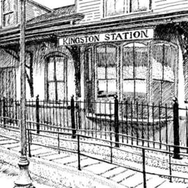Kingston Station  By Michael Garr