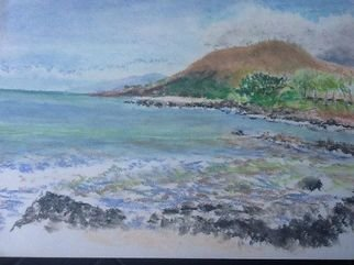 Beach Pastel by Michael Garr Title: Makena, created in 2012
