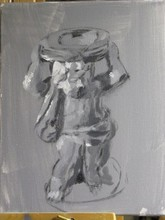 - artwork Statue_Study-1326860601.jpg - 2012, Painting Oil, Still Life