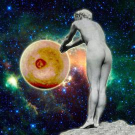 Marshall Swerman Artwork Heavenly Object 20, 2011 Color Photograph, Nudes