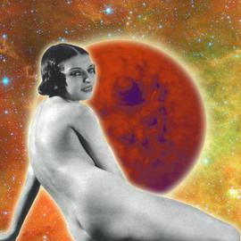 Marshall Swerman Artwork Heavenly Object 5, 2011 Color Photograph, Nudes