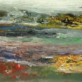Mukul Pipalia: 'Abstract Seashore', 2006 Acrylic Painting, Seascape. Artist Description: Acrylic on cardboard...