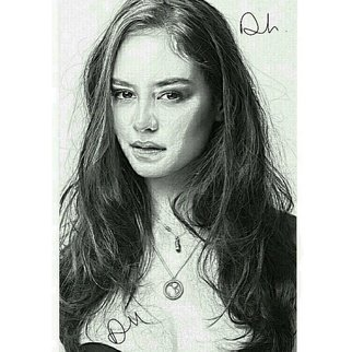 Destini Miles: 'courtney eaton', 2017 Pencil Drawing, Celebrity. Artist Description: Personal drawing of the model actress of Courtney Eaton from  Mad Max: Fury Road ,  God s of Egypt ,  Newness ,   etc. ...