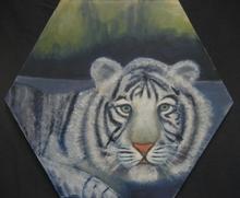 - artwork Siberian_Tiger-1185940523.jpg - 2007, Painting Oil, Figurative