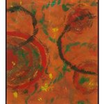 Untiltled Monoprint By Michael Weatherly