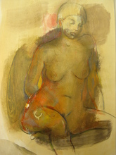 - artwork Resting-1201955167.jpg - 2008, Painting Acrylic, Figurative