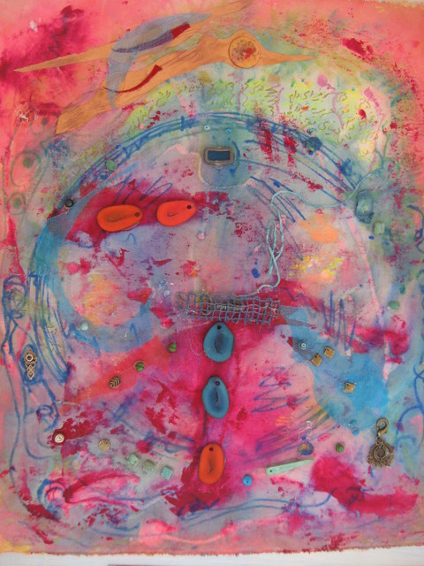 Nahid Navab  'Peace', created in 2008, Original Painting Acrylic.
