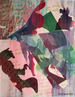 Nahid Navab Artwork Untitled number 4 from Spirits Series, 2010 Other Printmaking, Abstract Figurative