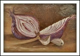 Irene Nilemo Artwork onion, 2017 Oil Painting, Astronomy