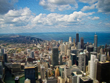 - artwork Art_o_TopOFWillsTower_Chicago-1370295260.jpg - 2013, Photography Color, Figurative