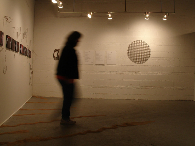 Nancy Bechtol  'Artist In Streetwise Install Space', created in 2005, Original Photography Mixed Media.