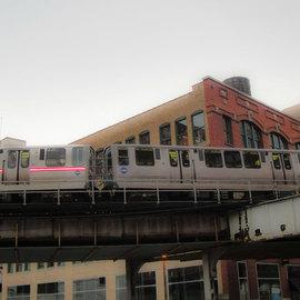 Chicago El vivid