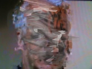 Nancy Bechtol: 'DIGITAL MINDSET SERIES MIDWAY THOUGH THOUGHT', 2015 Other Photography, Abstract Figurative. approx. size. inquire. ready to hangDURST LAMDA on metallic ON MUSEUM QUALITY DIBOND WITH UV COATINGnowhere, somewhere, 404 code, text...
