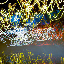 Nancy Bechtol: 'LightRideExtensive', 2010 Color Photograph, Psychedelic. Artist Description: peace, solstice, summmer , colors, lights...