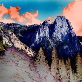Nancy Bechtol: 'MountainZen', 2009 Other Photography, Abstract Landscape. Artist Description: with the Unreal Landscape Series dedicated to the real photo of landscapes transformed. available in more sizes, archival prints and on canvas. framing for additional cost of 400. llimited editions of 25. ...