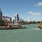 Navy Pier Skyline By Nancy Bechtol