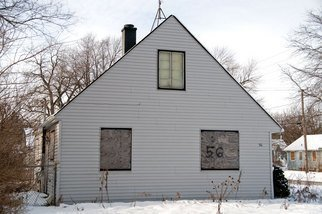 Nancy Bechtol Artwork No 56 House  Bensenville:reclaimed series, 2010 Color Photograph, Landscape