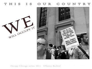 Nancy Bechtol Artwork Occupy Chicago Series  WE  This is Our Country, 2012 Other Photography, Activism