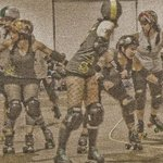Roller Derby Queens Roll By Nancy Bechtol