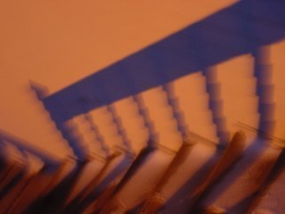 Nancy Bechtol: 'Spooky stairs', 2006 Other Photography, Conceptual.  emotional staircase ...