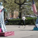 Statues Of Liberty Salute, Nancy Bechtol