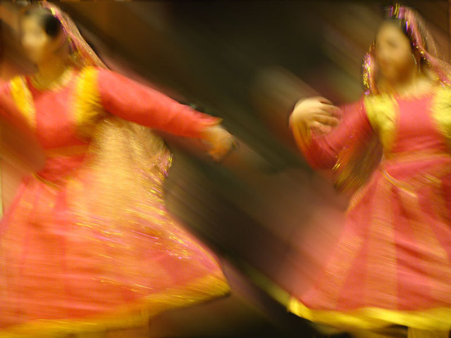 Artist Nancy Bechtol. 'Swing Hindi Dance 1' Artwork Image, Created in 2009, Original Photography Mixed Media. #art #artist