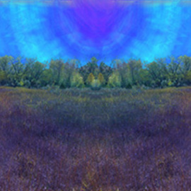 Nancy Bechtol: 'TYe Dye SKY', 2006 Other Photography, Abstract Landscape. Artist Description:  unrealreal lands from my visionary approach. Limited edition archival 25 edition. materials on paper or canvas archival inkjet printready to hang. panoramaic. Inquire on size available...