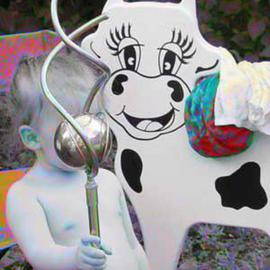 hosey cow kid