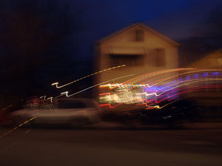 Artist: Nancy Bechtol - Title: house right light - Medium: Color Photograph - Year: 2008