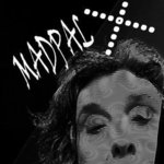 madpalX BW arty selfie By Nancy Bechtol