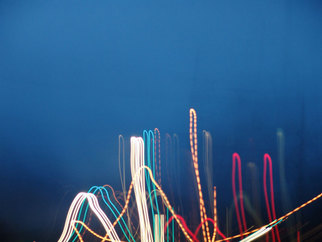 Nancy Bechtol Artwork multilights, 2008 Color Photograph, Abstract