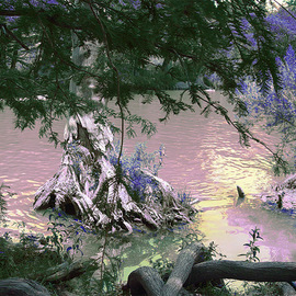 Nancy Wood: 'River 2', 2013 Other Photography, Travel. Artist Description:      Digital Photo on Canvas     ...