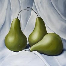 - artwork The_love_of_three_Pears-1154731541.jpg - 2006, Painting Oil, Still Life