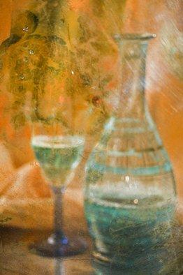 Maria Pia Gatti Artwork bottle and glass, 2008 Digital Art,