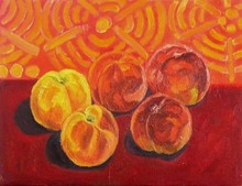 - artwork Peaches_in_2006_Hungary-1155296069.jpg - 2006, Painting Oil, Still Life