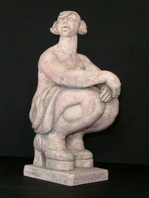 Natalia Shapira: 'Bird Has Flown ', 2003 Ceramic Sculpture, Figurative. Artist Description:  Classic Sculpture ...