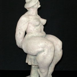 Natalia Shapira: 'Smiling  18,5X7X10', 2002 Ceramic Sculpture, Figurative. Artist Description:     Classic Sculpture    ...
