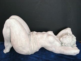 Ceramic Sculpture by Natalia Shapira titled: Starry Night 34X14X17, created in 2005