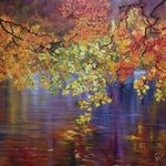 reflection of autumn By Natalie Demina