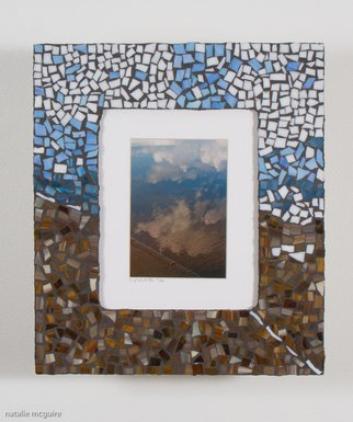 Natalie Mcguire Artwork clouded reflections, 2016 Mosaic, Scenic