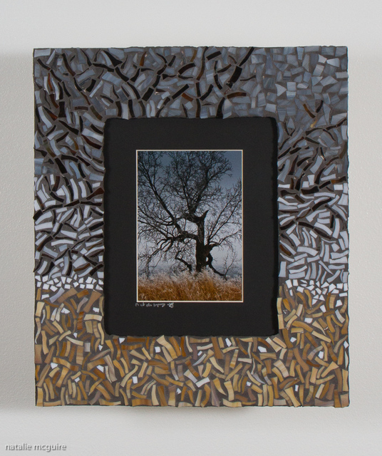 Natalie Mcguire  'Frosted Tree', created in 2015, Original Mosaic.