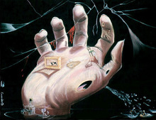 - artwork The_hand-1280749026.jpg - 1997, Pastel, undecided