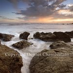 El Matador Beach Sunset II By Dennis Chamberlain